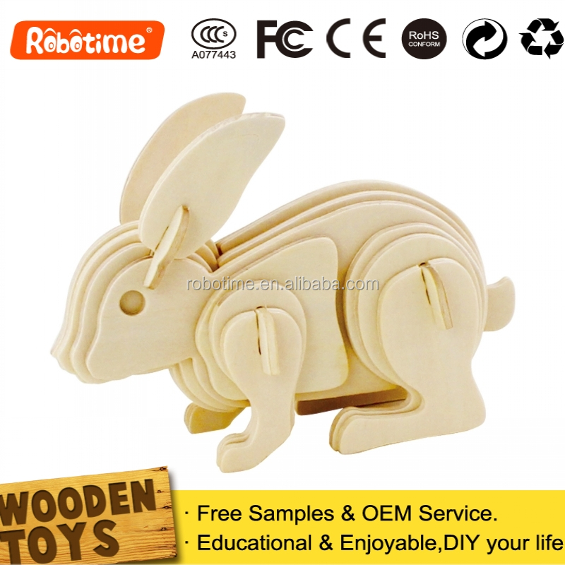 Promotion Toy Animal Kids Educational Wooden Gifts Manufacturer