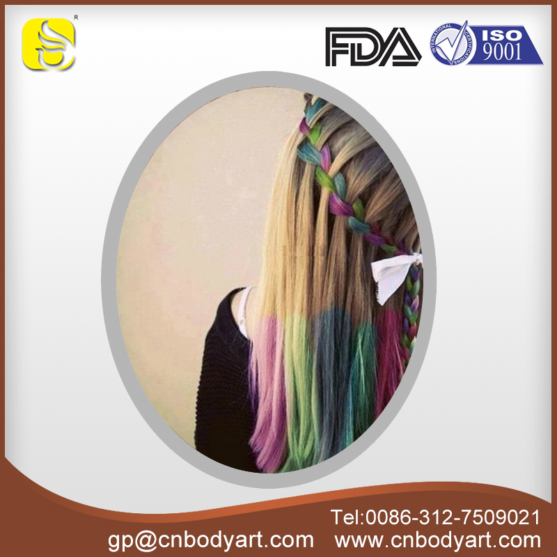Colorful factory price popular easy to operate hair chalk