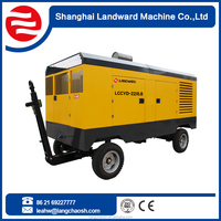 China Supplier diesel engine big red air compressor
