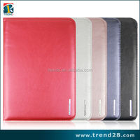 alibaba express china four folding leather case for samsung tab 4