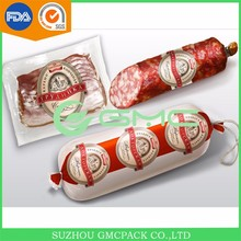 Custom printed FDA certified artificial casings for sausages
