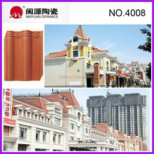 Spanish red clay roof tiles price/special design and cheap bent roofing tile