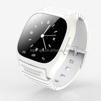 Mobile watch phone M26S with new intelligent chip smart bracelet BT 4.0 bluetooth smart watch