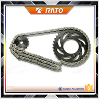China OEM xrm rs100 motorcycle chain sprocket