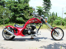Chopper Model Motorcycle