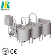 Foaming cleaning machine with three basket / vegetable and fruit washing machine