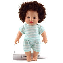 Hot sale child love size 12 inch baby doll with sound