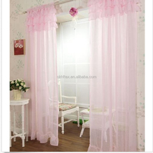 Hot sell Sheer Crochet Lace linen cotton Window Curtains