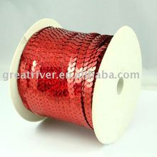 PVC Sequins Trim for Garment Sequins Trim for accessories