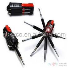 8 in 1 multi screwdriver with led light is a portable tools