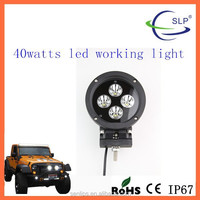 IP67 Offroad Round 40W LED Tuning Work Head Light