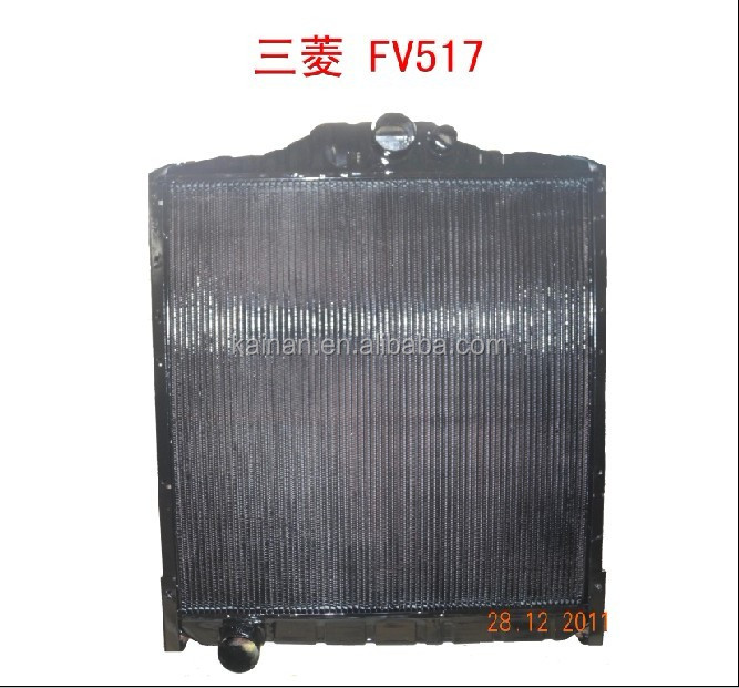 truck engine cooling parts FV517 radiator for mitsubishi