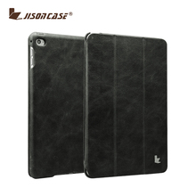 New Arrvial Ultra Thin Leather Flip cover For iPad mini 4 Tablet case