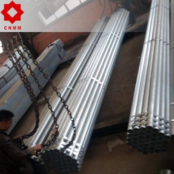 q235 circular erw galvanized steel pipe with great price