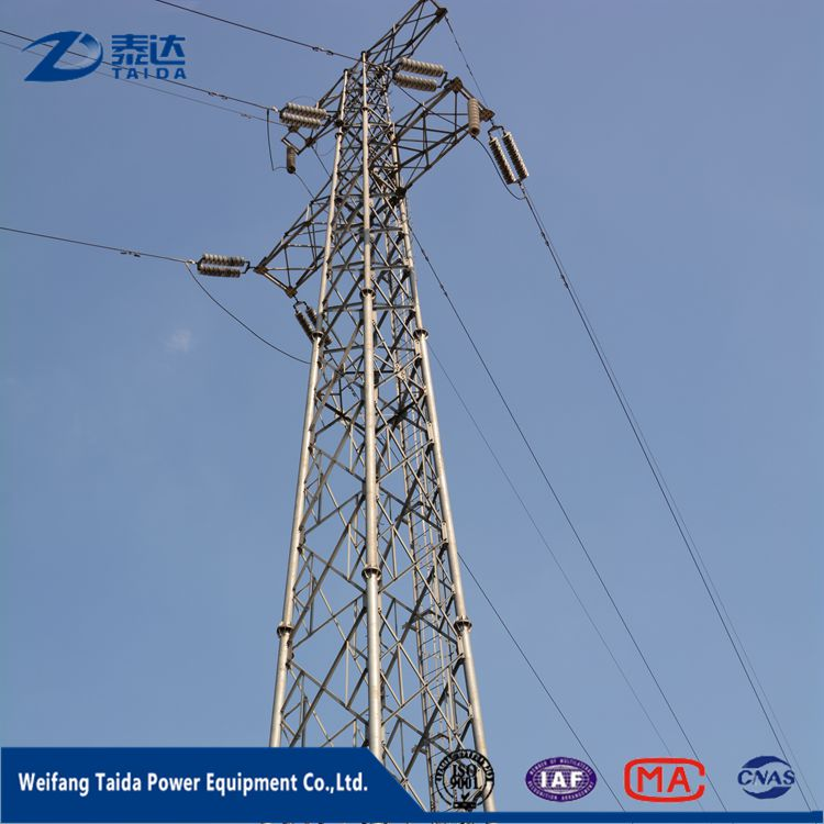 Electrical Equipment Supplies 400kv 550KV Towers