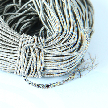 Stretch electric wire for EMS suits