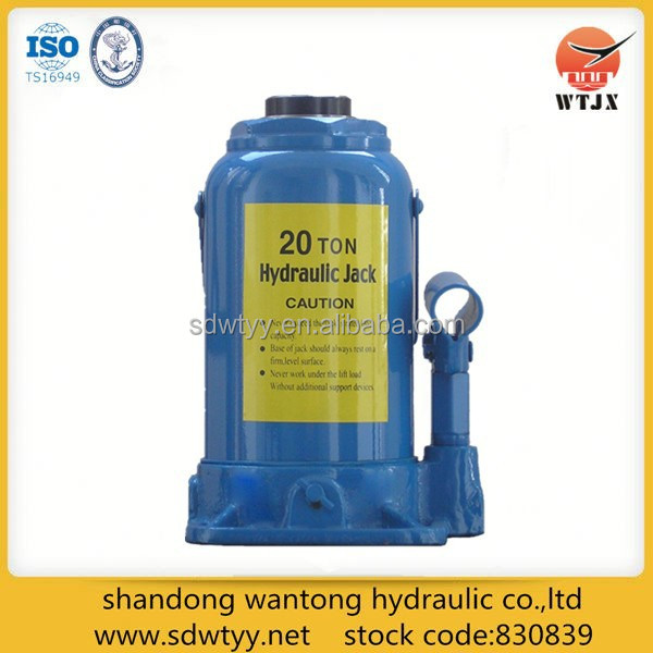hydraulic telescopic bottle jack / hydraulic bottle jacks made in China