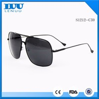 China New Arrival Hot Selling Products Twin-Beams Wholesale Pilot Mens Sunglasses