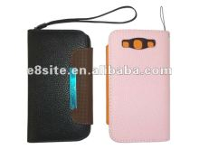 Wallet PU Leather Phone Cover Case For SamSung Galaxy S3 i9300