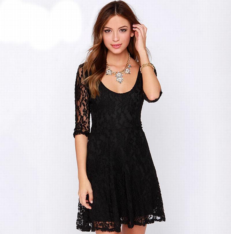 Cheap Black Fit Flare Dress, find Black Fit Flare Dress deals on ...