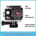 2.0 Inch Screen Single display Wifi 1080P 60Fps 4K Mini Sport Action Camera
