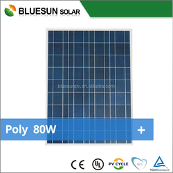 TOP quality poly 80w small solar panels made from China