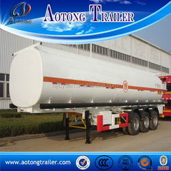 2015 china aotong brand new 45000 liters oil fuel tanker truck trailer