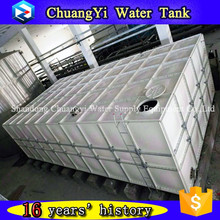 Factory direct supply specification for grp water tanks with panel assembling