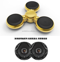 LED Flash Lighting Bluetooth Speaker Music Spinner Answering Call Hand Spinner Fidget Spinner Toy EDC Stress Reducer