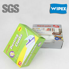 disposable static floor wipes