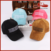 Innovative new products womens fitted outdoor cotton embroidered baseball cap