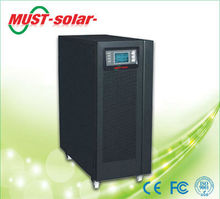 <MUST Solar>8KW 10KVA High Frequency online UPS with external battery