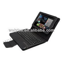 Brand New black leather case with keyboard Made in China