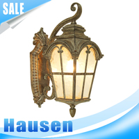 Rust cast iron wall light classic latest wall lamp New modern fancy design wall sconce