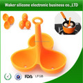 Silicone cooking egg tool egg holder promotional egg run holder