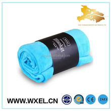 wholesale microfiber printed baby knitted blanket fabric with low cost