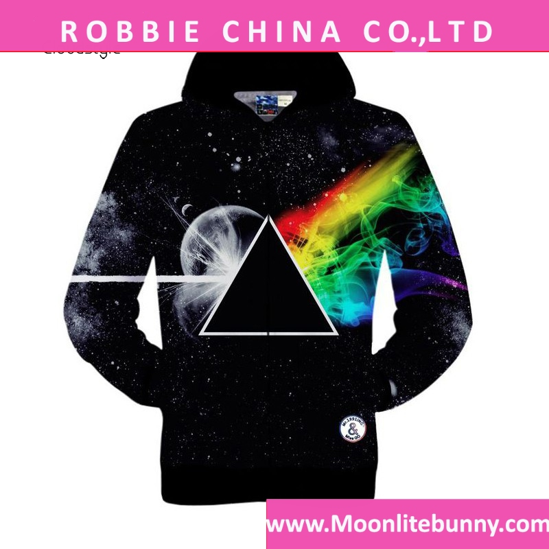Men Hoodie 3D Dream Planet Design 2016 New Arrival Hoodies Men Suit Brand Clothing hoodies