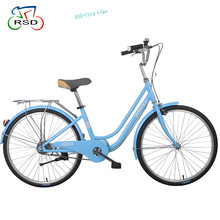 factory direct city bike wholesale /quad bike hot sell city bike 700C 7 Speed Women City Bicycles/Classic Lady City Bike