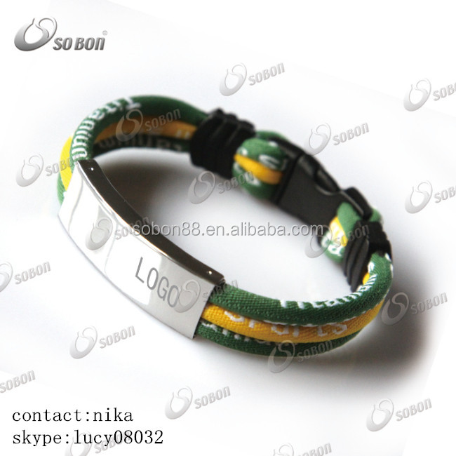 2016 products you can import from China titanium germanium negative ion sport energy bracelet