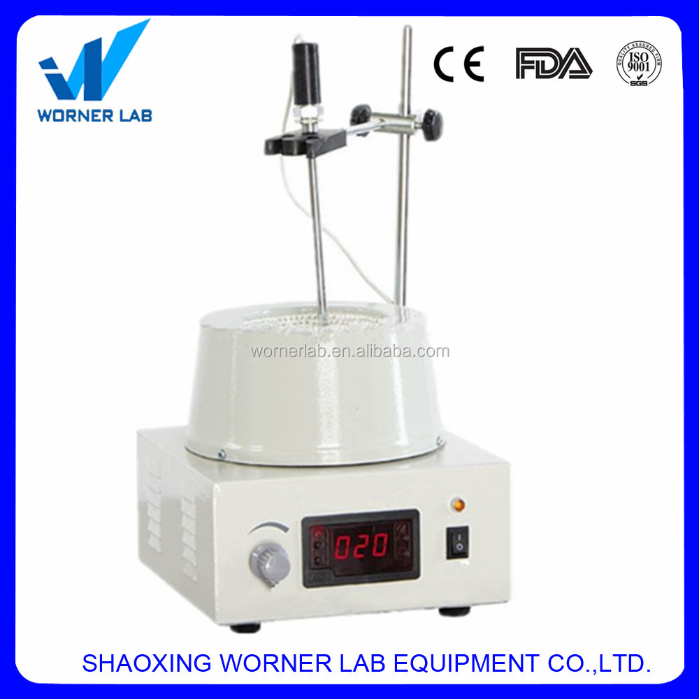 heating mantle with magnetic stirrer,basic lab equipment