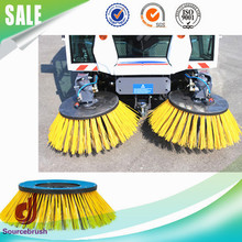 custom gutter clean sweeper rotary hard nylon brushes manufacturer