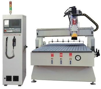 Row Type ATC Woodworking CNC Router SHM25H with X axis 1300mm and Y axis 2500mm and Z axis 200mm
