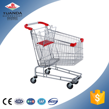 American Style Steel Wire Shopping Cart Direct From China Factory