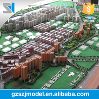 2016 briefness plastic architectural building scale model
