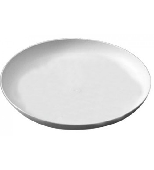 Round plastic tray with handle/plastic serving tray #53160000000000
