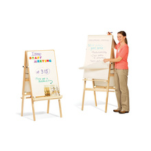 2017 Most Popular School Furniture Educational Tool Drawing Board Stand In Wood
