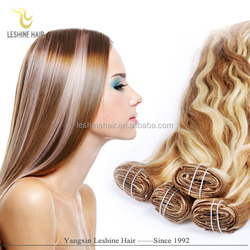2016 Best Selling Remy New Design Brand Name 160 gram human hair extensions clip double weft