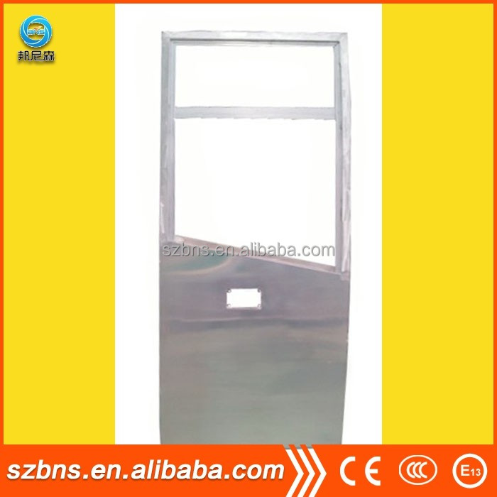 BNS electric swing in/inswing bus door and bus door mechanisms