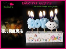 Wholesale lovely cartoon candles birthday candles toothpick candle