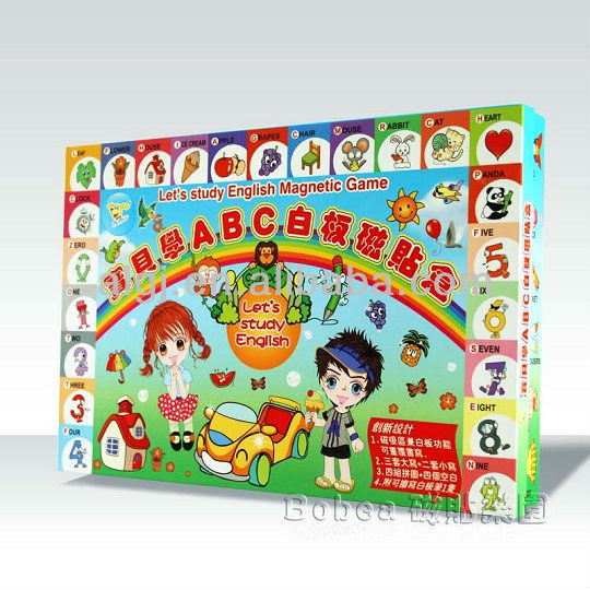 Lets study English Magnetic Game